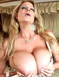 Love is... these big beautiful natural tits that Kelly loves to share with you!