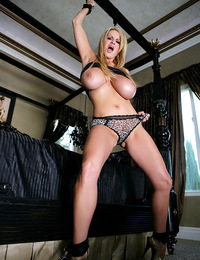 Tied up and dominated is how Kelly likes Ryan to handle her.